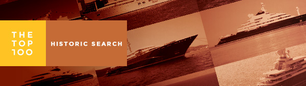 the 100 Historic Superyacht search