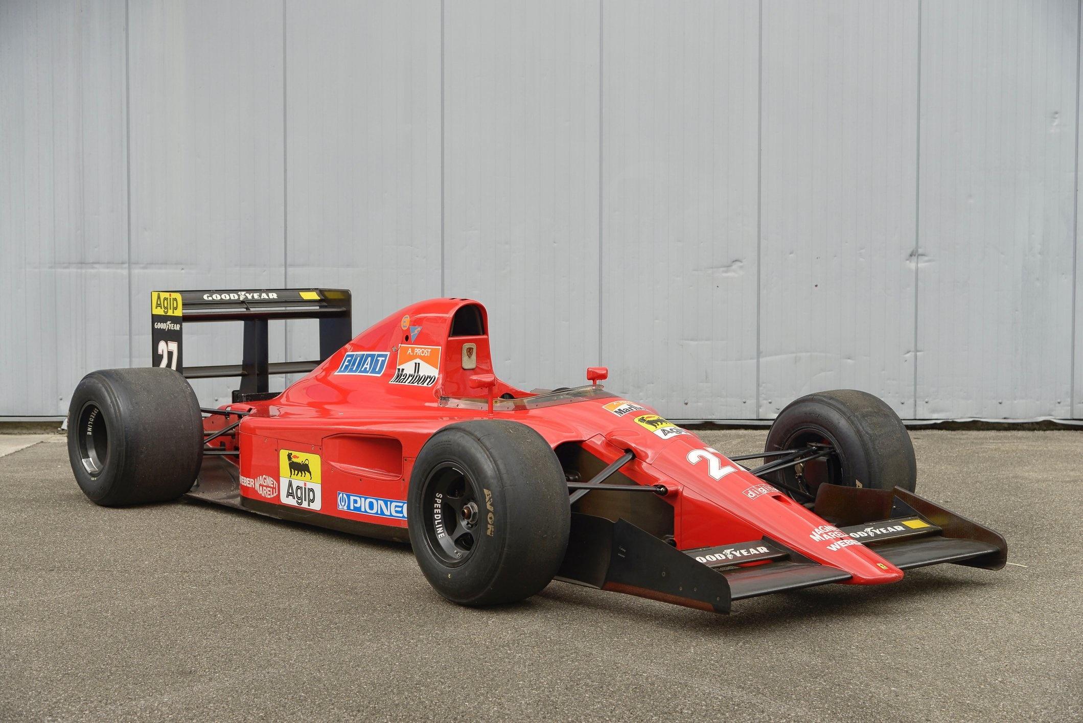 Ferrari F1 Revealed for Bonhams Single Owner