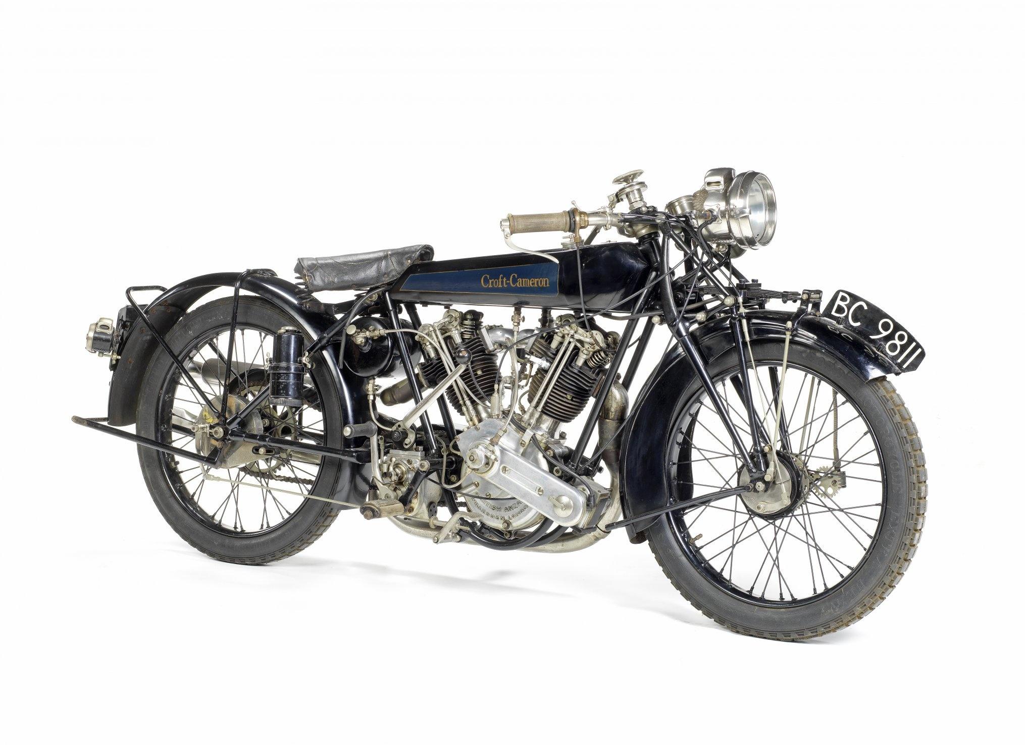 Rare 1920s Croft Cameron super Eight Stars at