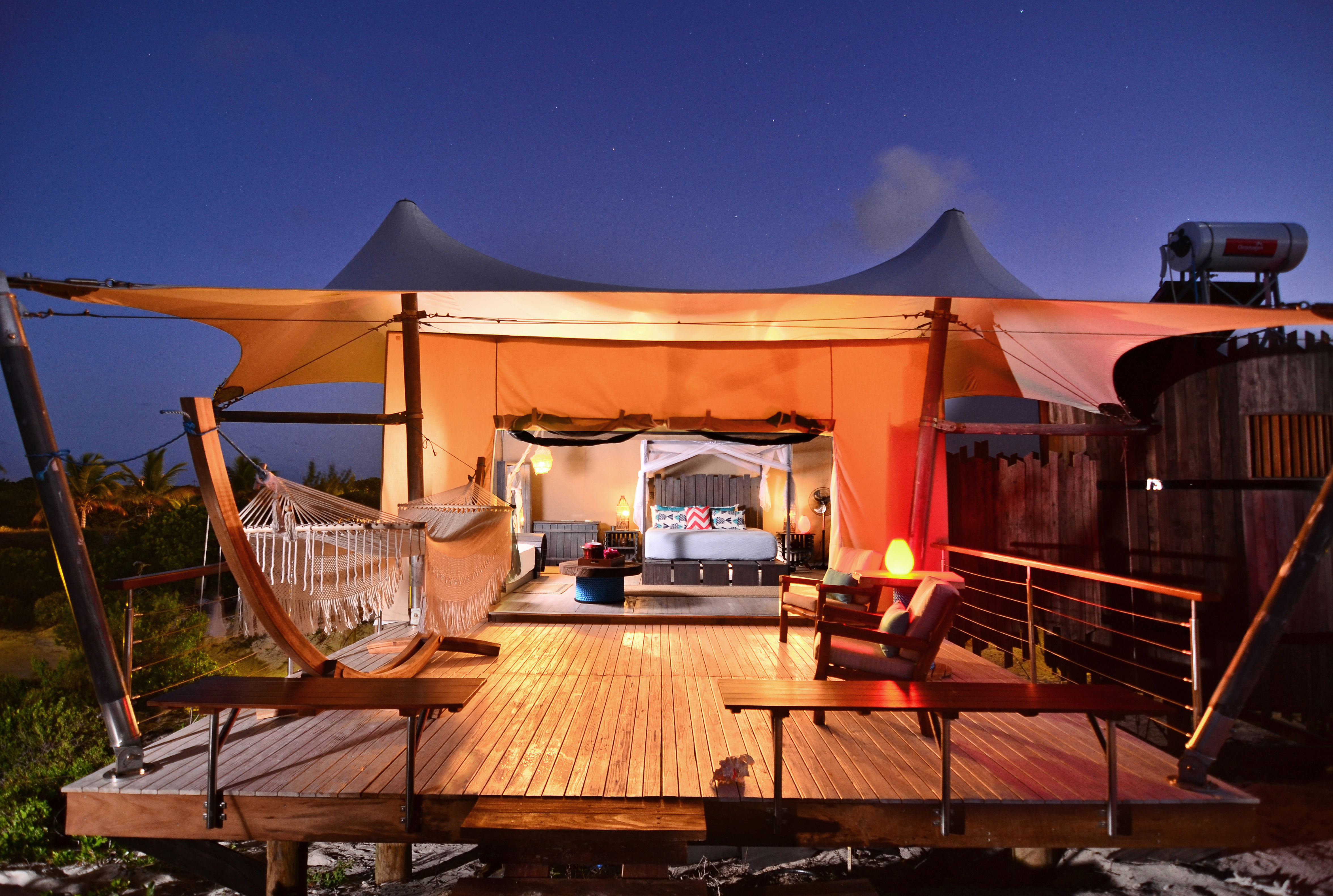 Anegada Beach Club S Luxury Tents Offer Unique Glamping Experience