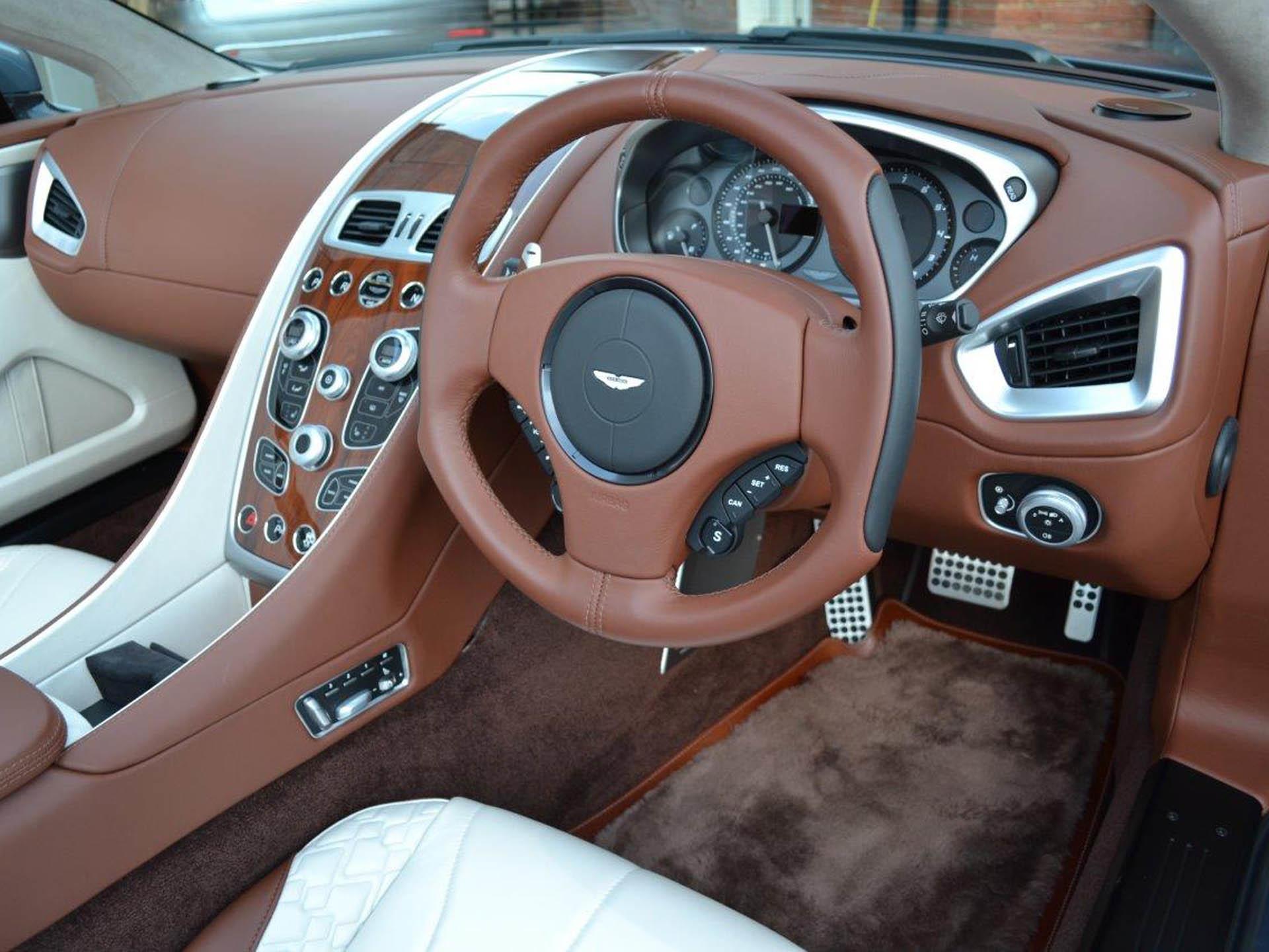 OneofaKind Aston Martin Vanquish Volante Superyachtscom - Aston martin vanquish volante