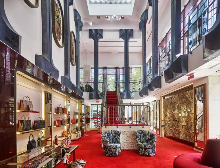 4113cb1429a Louboutin's Flagship Miami Store Inspired by.. | superyachts.com