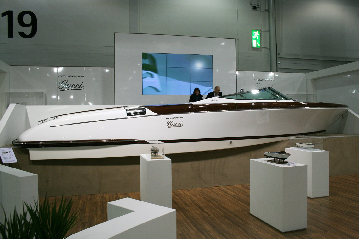 The  Aquariva by Gucci  Luxury Tender at the..   superyachts.com bb99780ad75