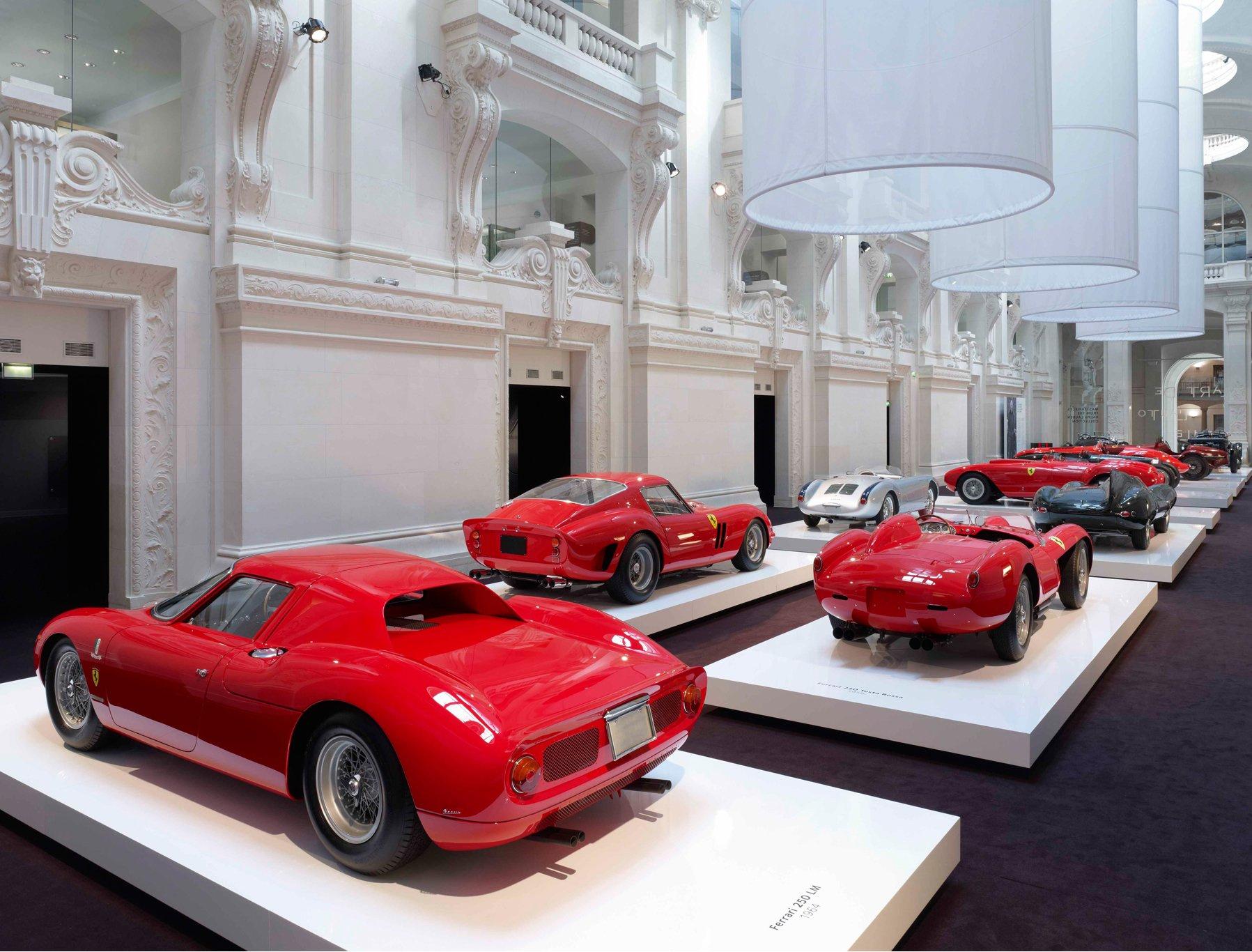 Paris Exhibits Ralph Lauren Car Collection | superyachts.com