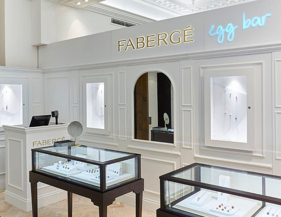 Harrods Hosting Pop Up Faberg Boutique