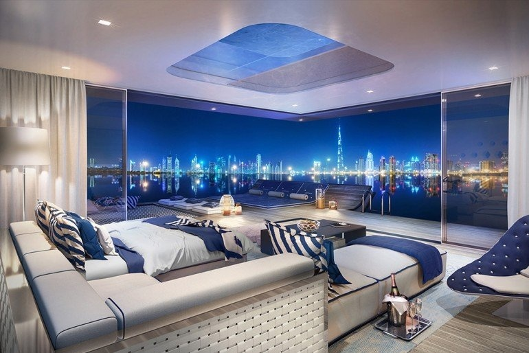 Floating Villas With Underwater Rooms To Be Built In Dubai