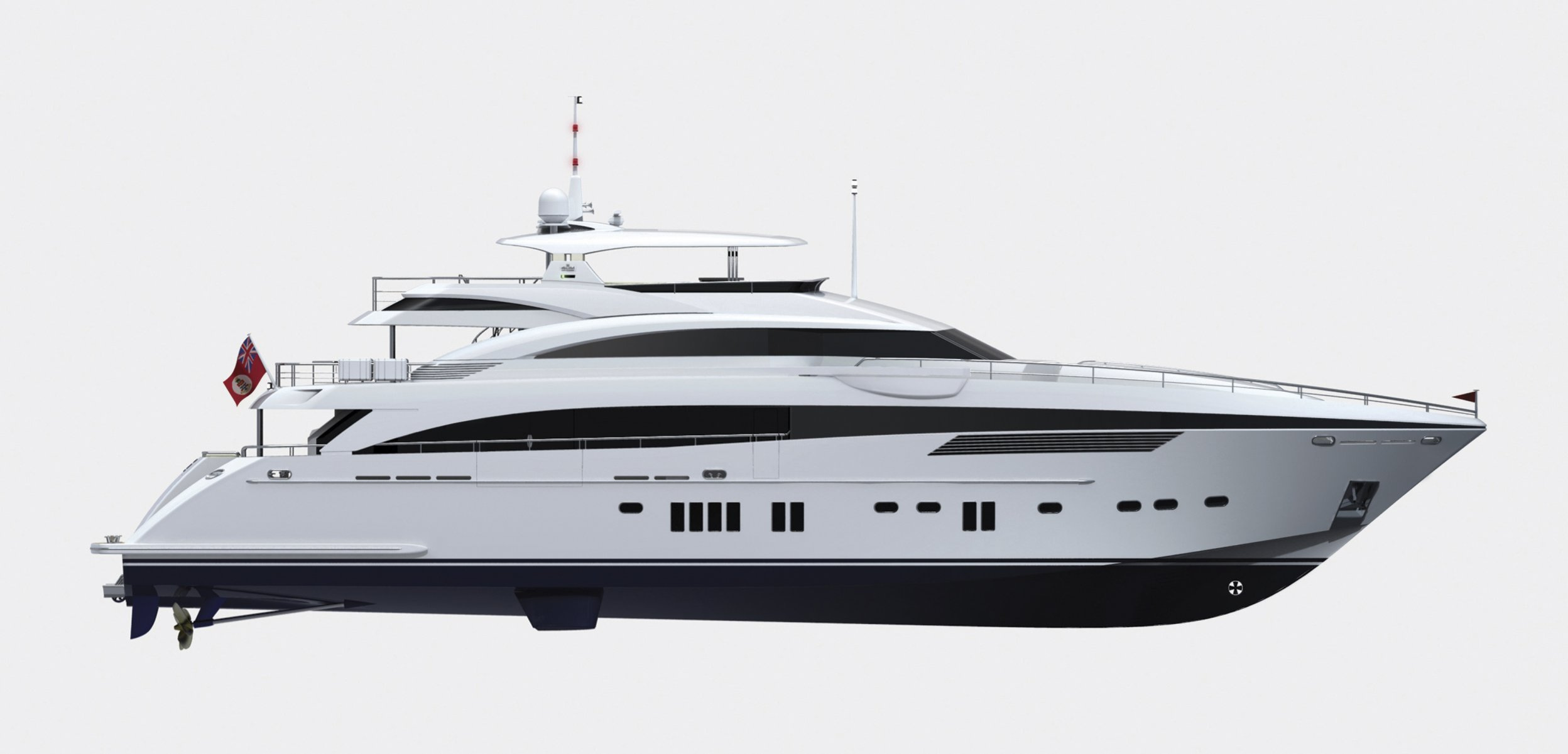New Princess M Class Series Yachts Spotted At