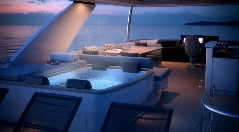 All New Long Range Princess 88 Motor Yacht Unveiled