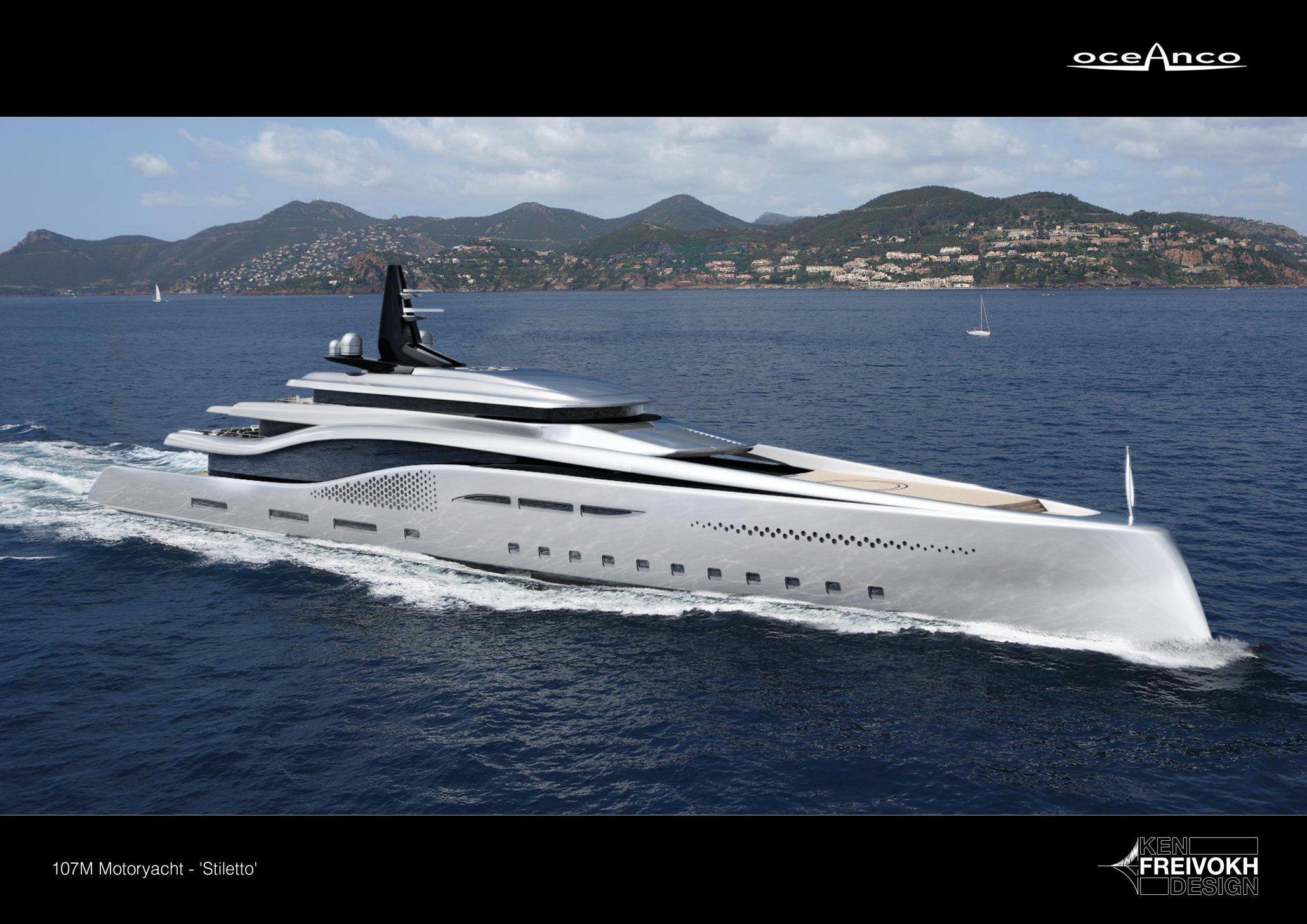Superyachten concept  Oceanco Reveal New Look At Stiletto's Concept.. | superyachts.com