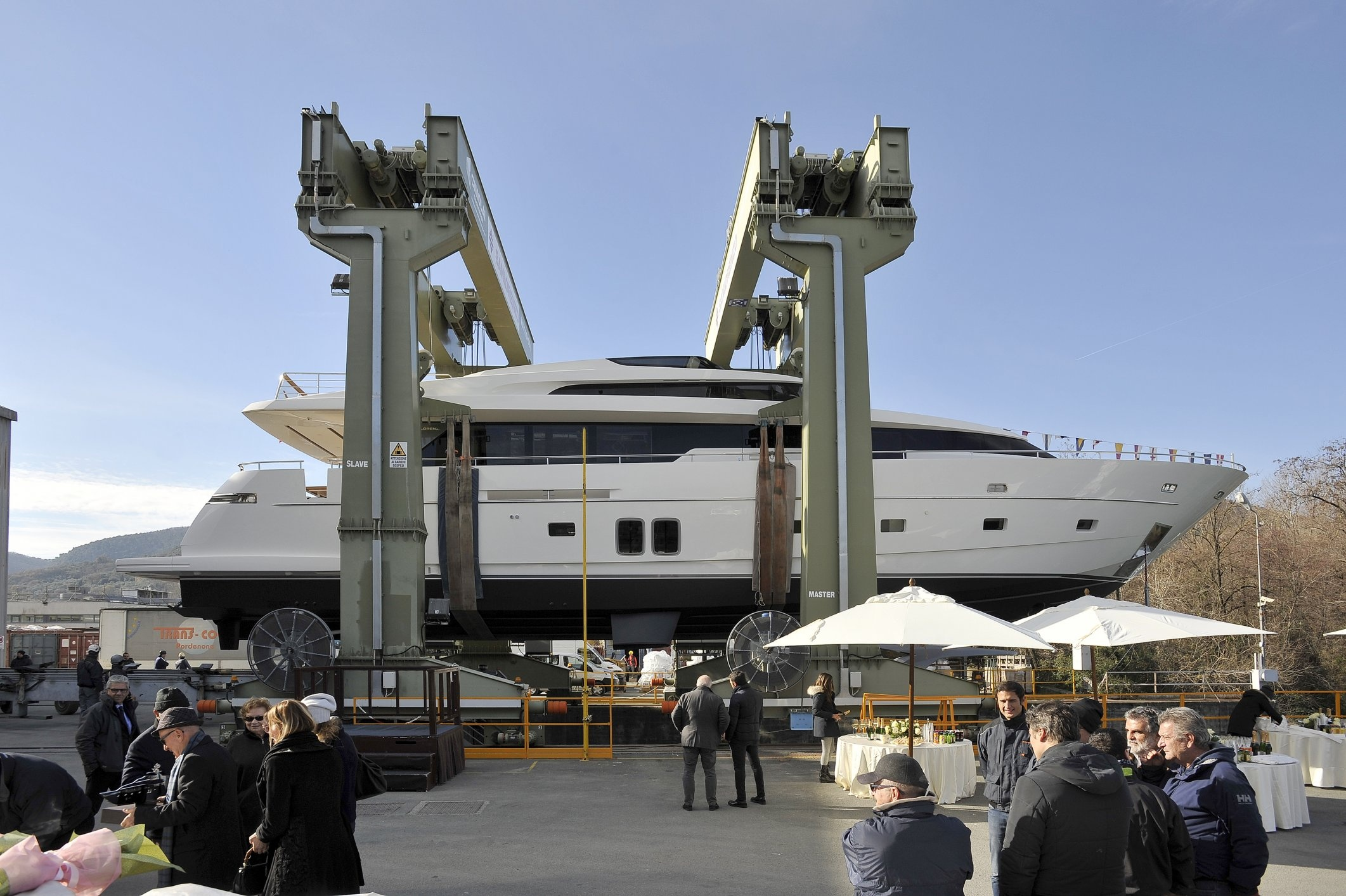 sanlorenzo begins 2016 with launch of blue.. | superyachts