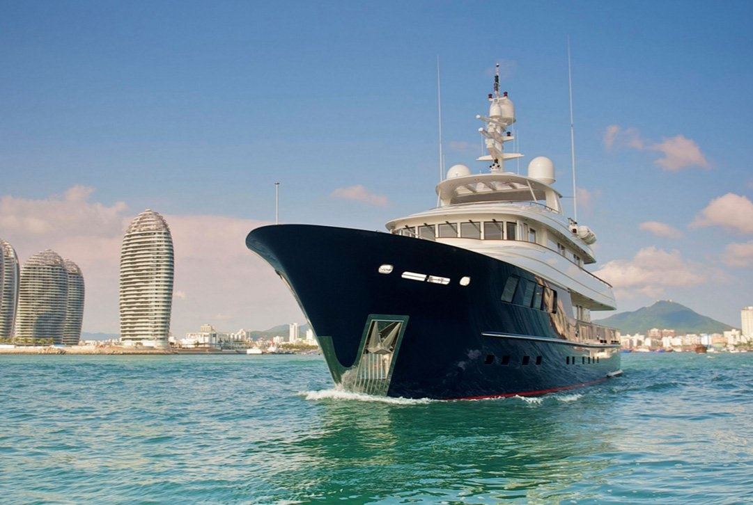 The Clical Expedition Superyacht Steel Star Photo Courtesy Of Kingship