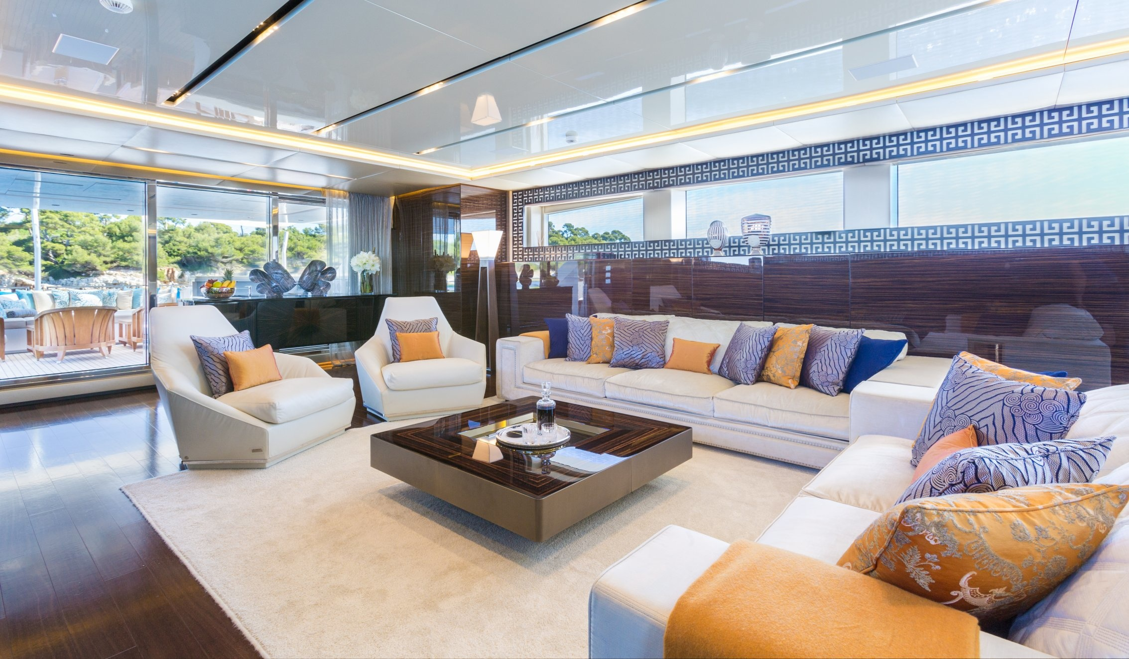 ... A New Look At Charter Yacht Flying Dragon (photos By Quin Bisset    Courtesy Of ...