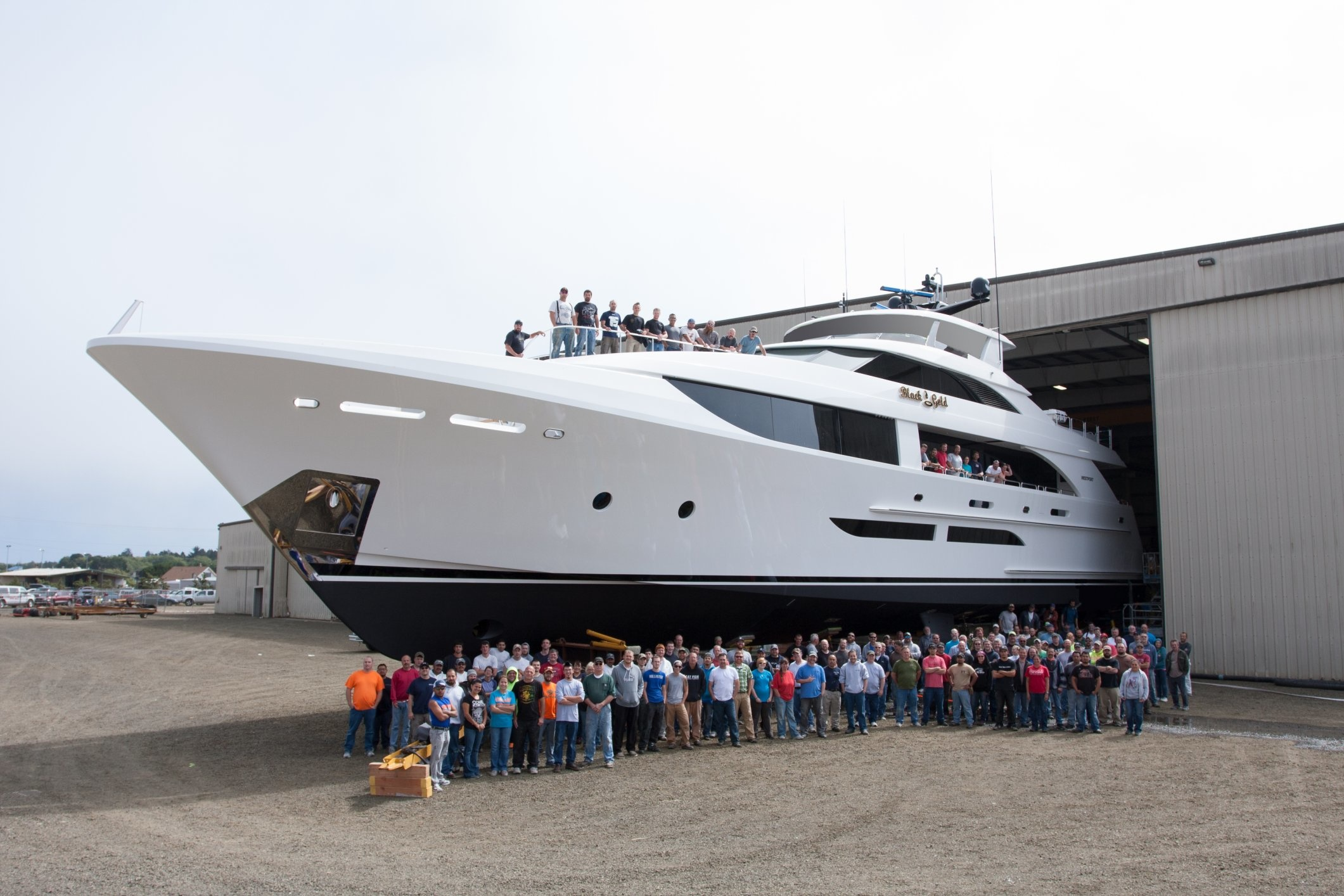 Black Gold Emerges From The Westport Shipyard