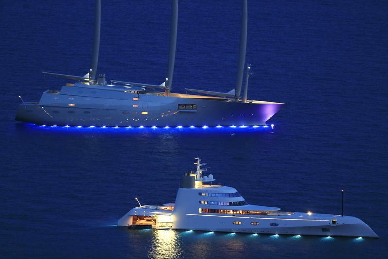 Sailing Yacht A >> A Revelation Sailing Yacht A Under Sail Superyachts Com