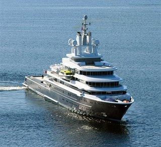 Superyacht abramovich  Motor Yacht Luna 115m Delivered to Roman.. | superyachts.com