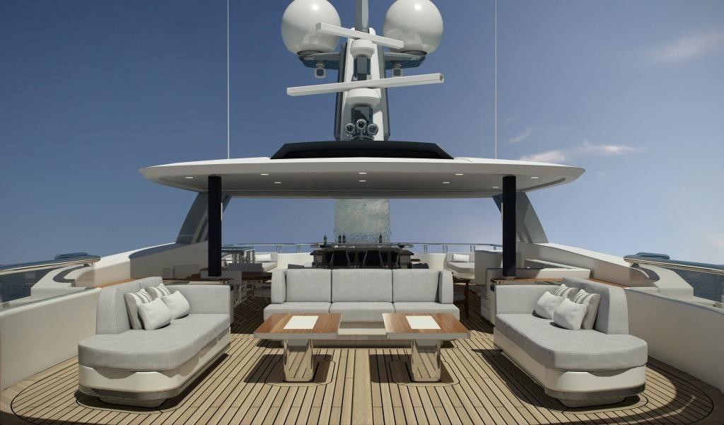 CMB Superyacht Project Liquid Sky Launched &   | superyachts com