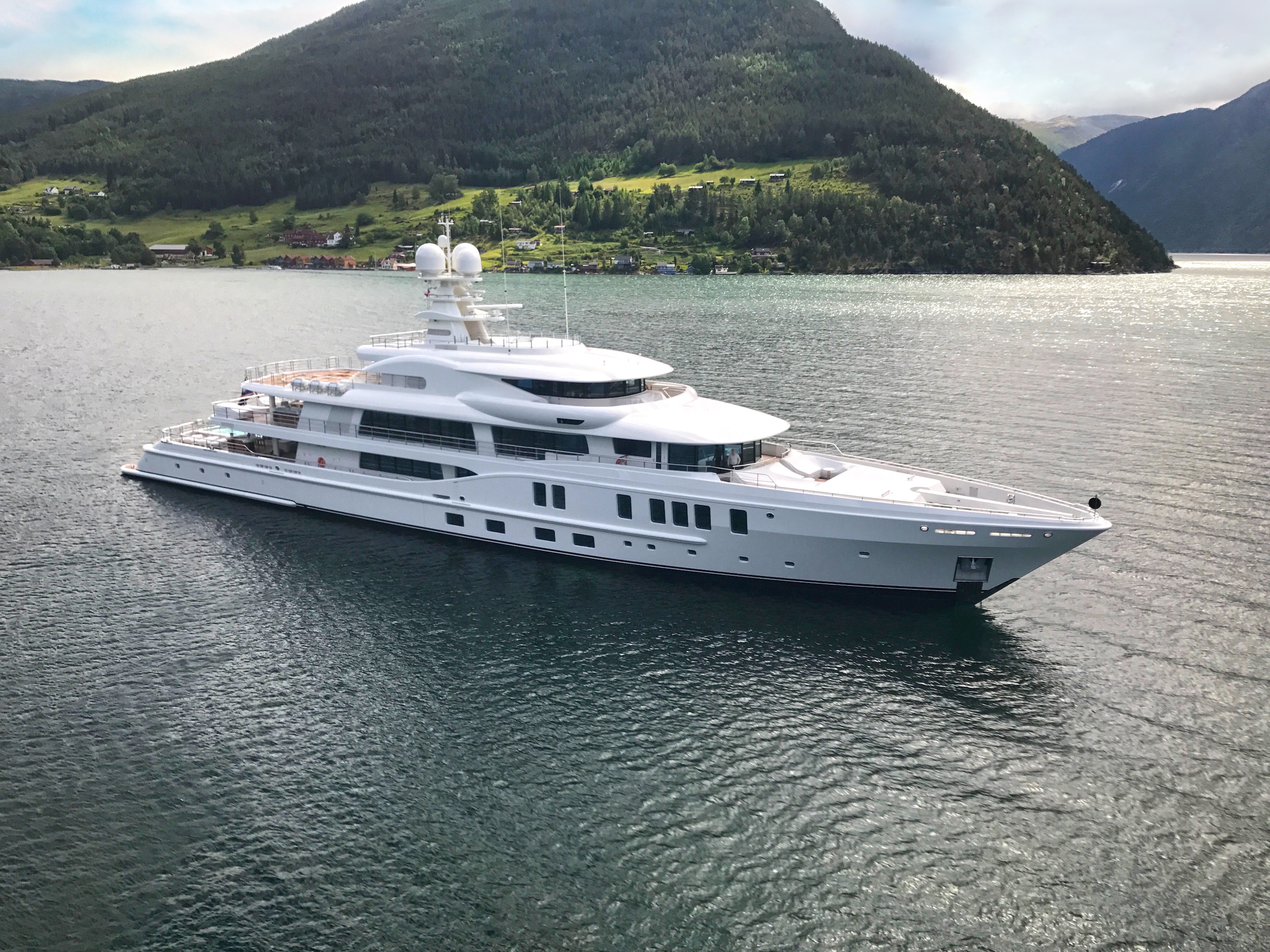 The latest AMELS 242 superyacht 'New Secrets' ...