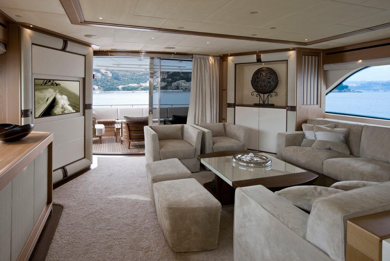 Superyacht Lady Jane\'s Modern Interior Design.. | superyachts.com