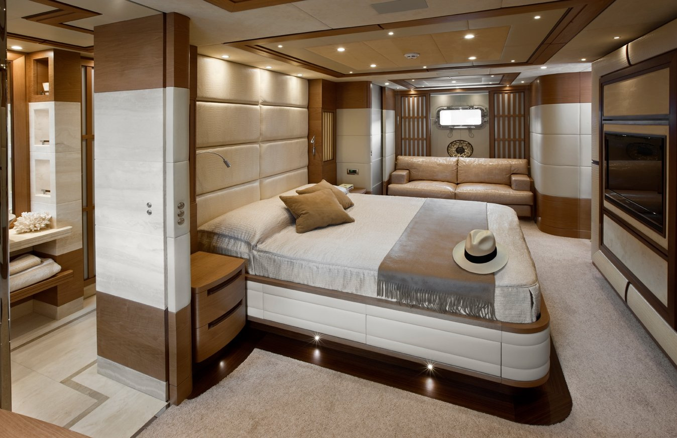 Superyacht Lady Jane\'s Modern Interior Design..   superyachts.com