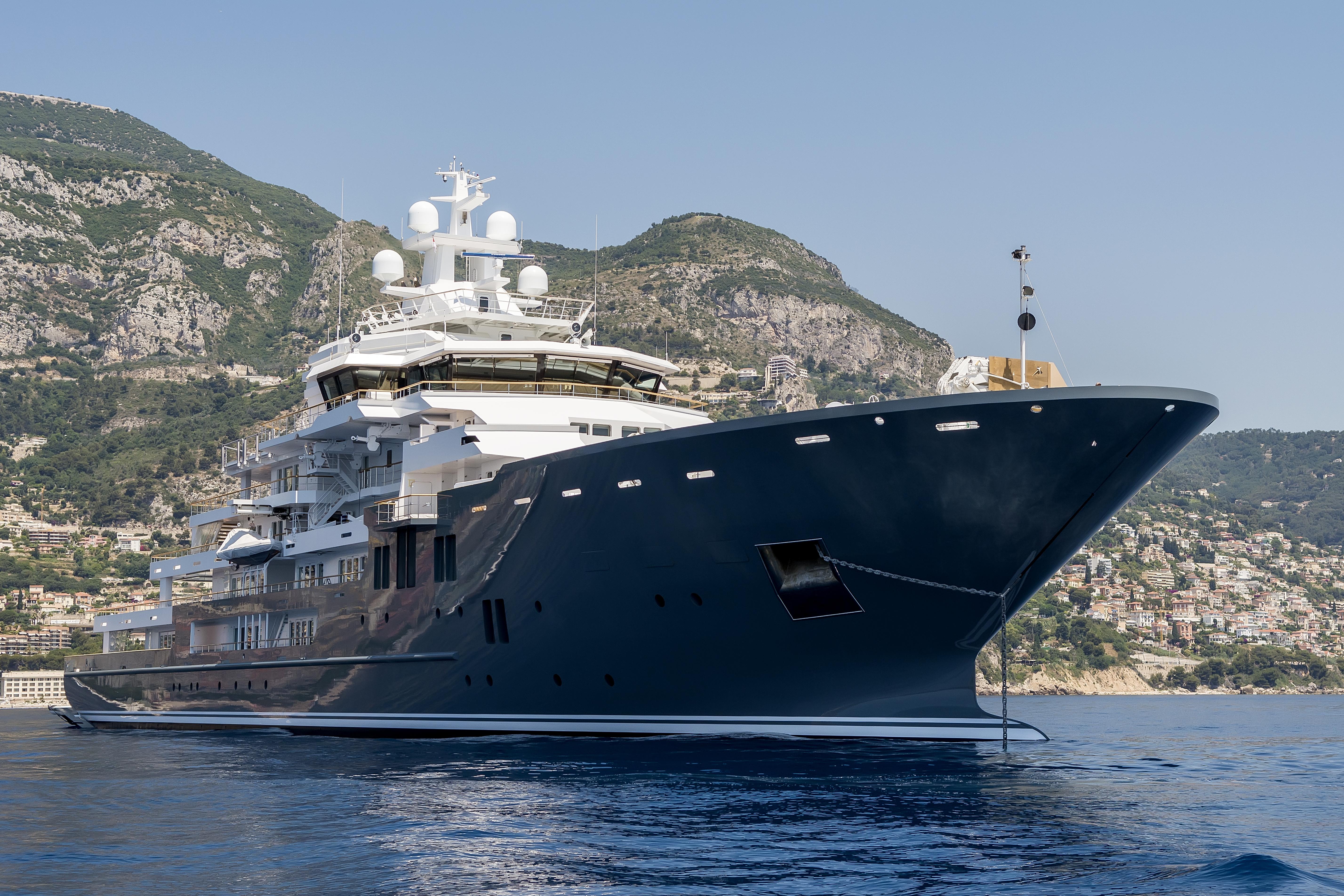 The Sale of a Giant: 107m Kleven Explorer   | superyachts com