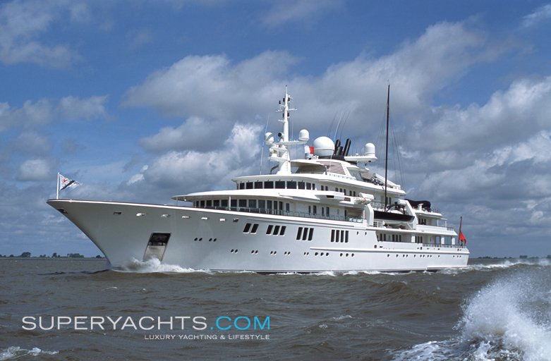 ... Motor yacht Tatoosh ...