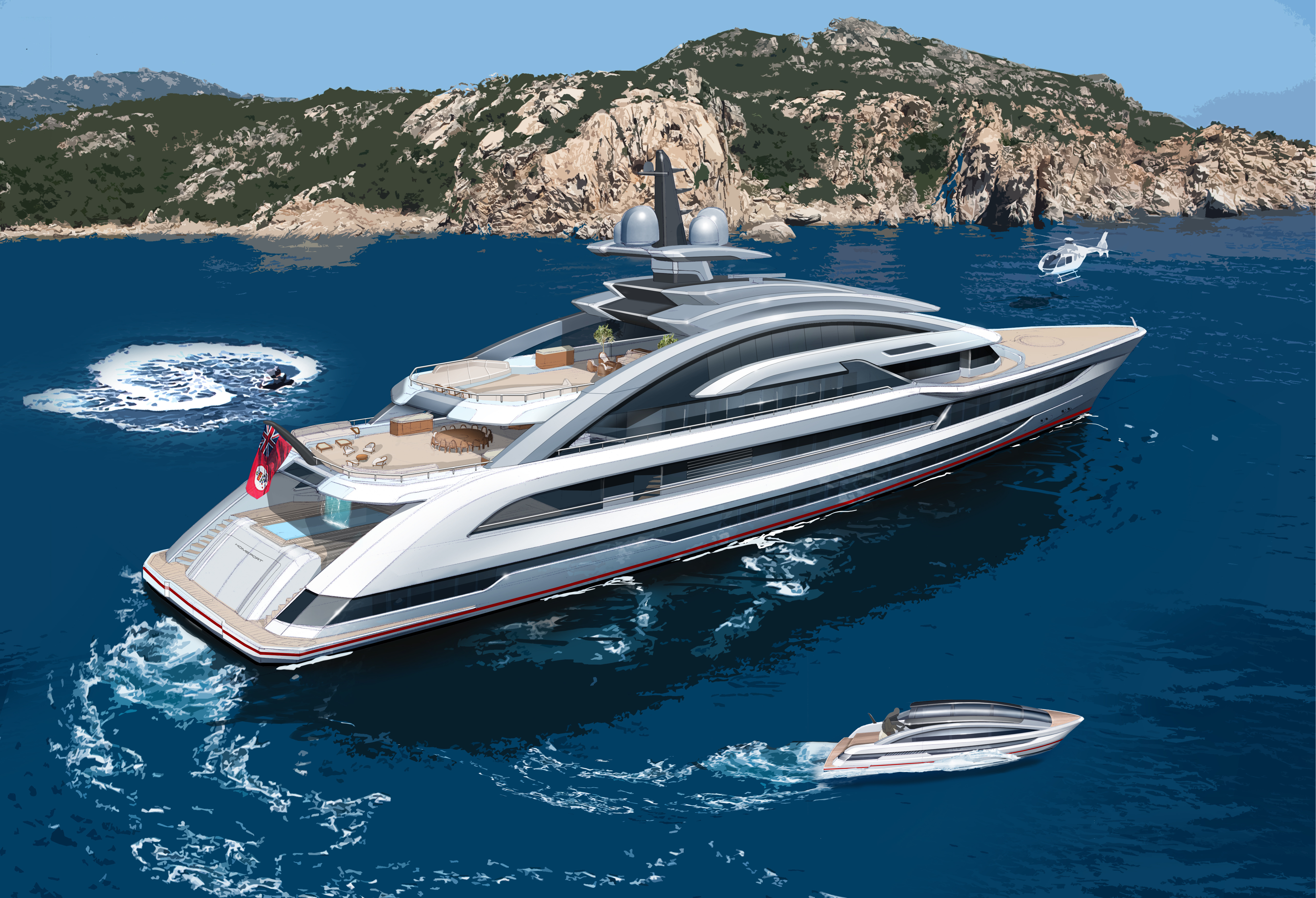 Heesen Yachts Introduce Project Cosmos | superyachts com