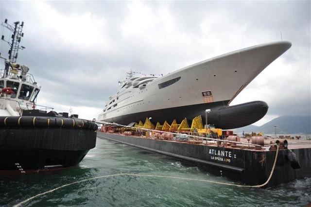 Fincantieri Launch 134m Superyacht Serene Superyachts Com