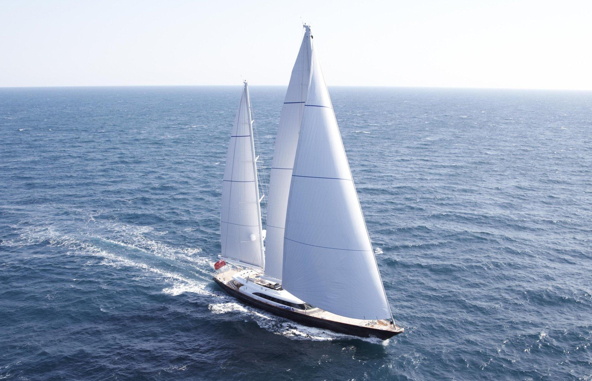 luxury sailing yachts at the 2010 antigua
