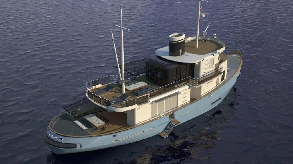 Cobra Yacht Unveil Superyacht Conversion   | superyachts com