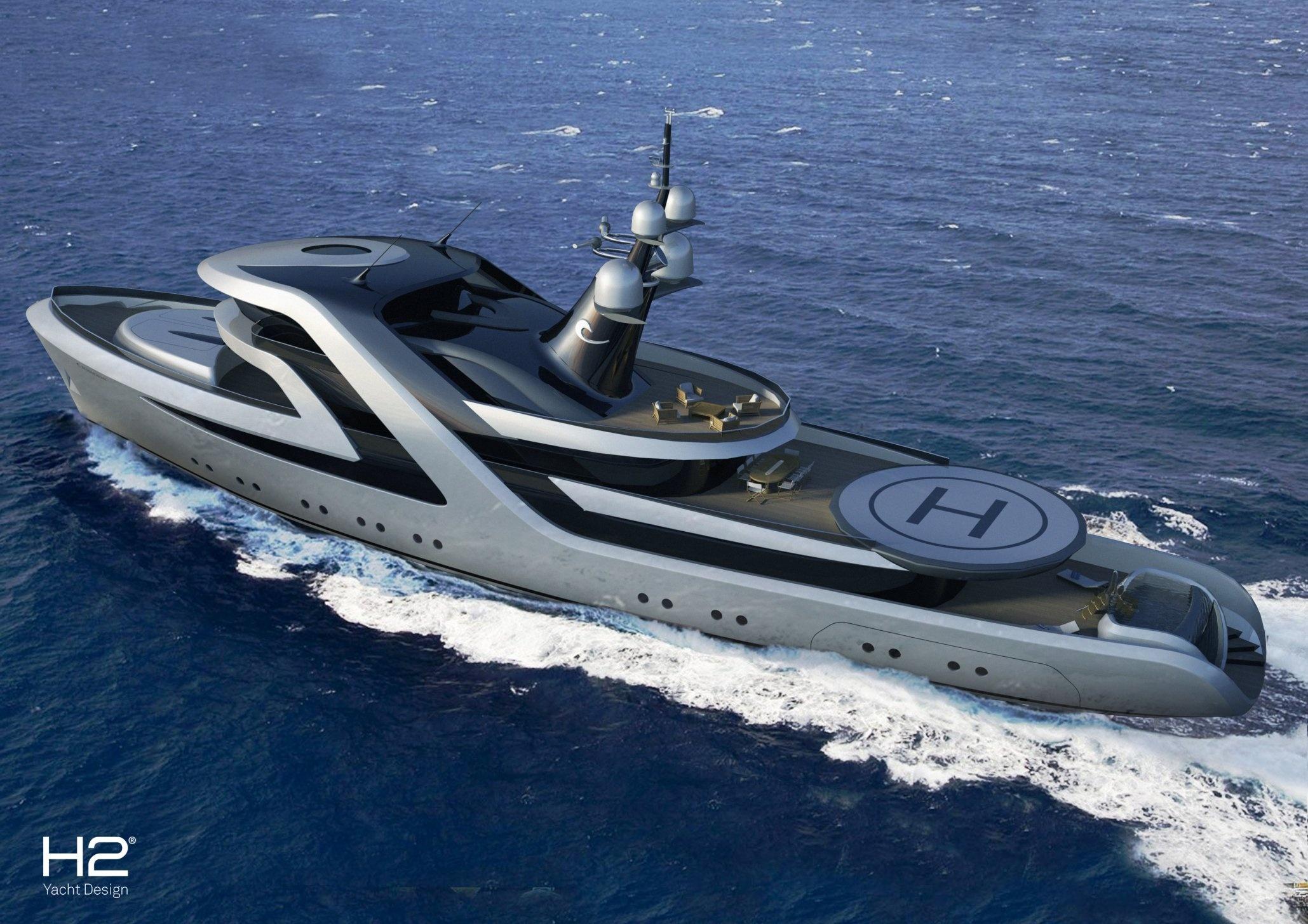 Icon Yachts Host Yacht Conversion Design   | superyachts com