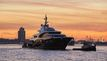 Oceanco 88.5m Y715 Superyacht Makes a Splash