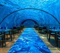 Maldives Underwater Restaurant Revamped as Temporary Yoga Studio
