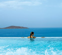 Elounda Peninsula Is Home To Crete's Largest Seafront Pool
