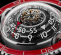 MB&F Launch Aquapod Platinum Red Watch