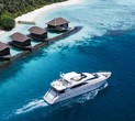 Maldives Hotel Offers Guests a Superyacht