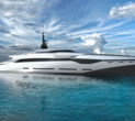 Classic Muscle Car Style Meets Superyacht on Zephyr
