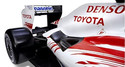 Toyota Panasonic F1 car pieces yours to own