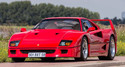 Nigel Mansell's Ferrari F40 Takes Pole Position at Bonhams Sale