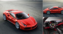Ferrari 488 GTB Supercar to Debut at Geneva Motor Show