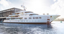 Superyacht Project Gatsby Hits the Water as 'Aurora'