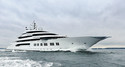 Superyacht Project Mistral Delivered as 'Amadea'