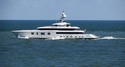 Feadship's M/Y Hasna Spotted on Sea Trials