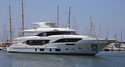 Benetti's Second Mediterraneo 116 Touches the Water