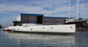 E-volution's Hull Arrives at Perini Navi Shipyard