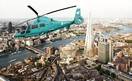 Deliveroo Helicopter Launches over London