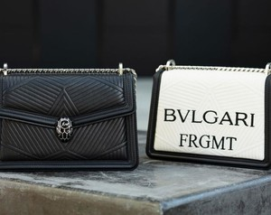Bulgari and Fragment Design Team Up On Exclusive Bag Collection
