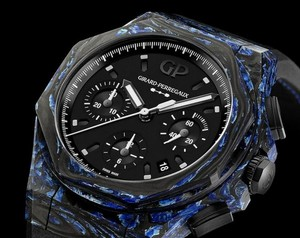 Girard-Perregaux Laureato Absolute Rock Features Carbon Glass