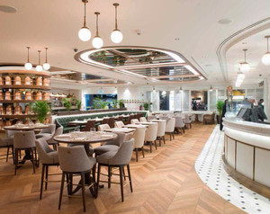Doha's Airport First to Get a Harrods Tea Room