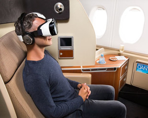Qantas and Samsung Introduce 'Virtual Reality' In-Flight Goggles