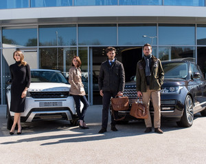 Barbour for Land Rover Unveil A/W 2015 Clothes Collection